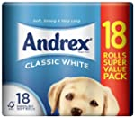 Andrex White Toilet Tissue - 18 Roll