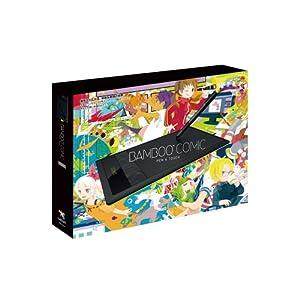 Wacom ペンタブレット Sサイズ ブラック イラスタMini&コミスタMini付属 Bambooコミック CTH-470/K2