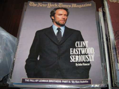 The New York Times Magazine (CLINT EASTWOOD , SERIOUSLY , The Fall of Lehman Brothers Part 2, February 24 , 1985) (Fall Of Lehman Brothers compare prices)