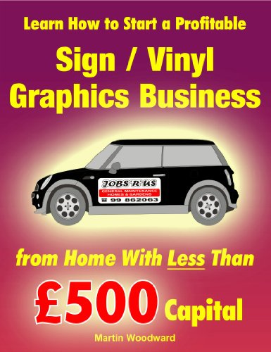 Learn How To Start A Profitable Sign Vinyl Graphics Business From Home Wi