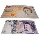 Super Soft Beach Towel Currency/Money/Sterling Design 75Cm X 160Cm - Set Of 2