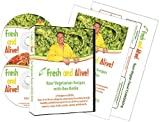 Fresh and Alive! Raw Vegetarian Recipes With Ken Rohla 2-DVD Set w/ Booklet and Chart