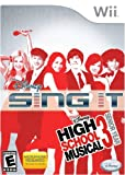 Wii Disney High School Musical 3 Senior Year Sing It - Microphone Required