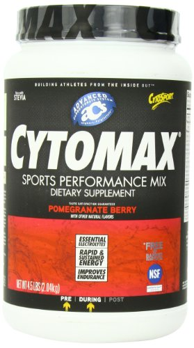 Cytosport Cytomax Sport Energy Drink, Pomegranate Berry, 4.5 Pound