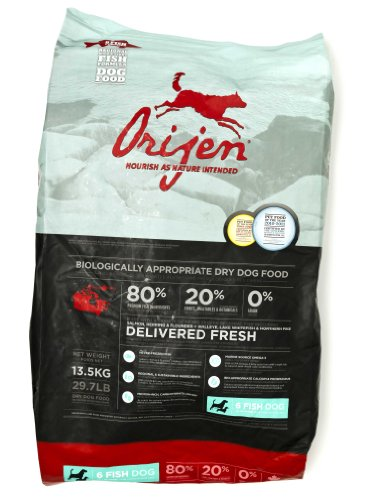 Orijen 6-Fish Grain-Free Dry Dog Food, 29.7lb