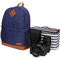 Kattee Professional Canvas SLR DSLR Camera Case (Blue)