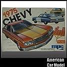 75 CHEVY Caprice 1975 シボレー カプリス トレイラー付 3in1 mpc 1-7504 1:25スケール プラモデル [並行輸入品]