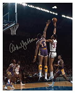 Milwaukee Bucks Kareem Abdul-Jabbar Autographed 8 x 10 Photo vs. Los Angeles Lakers -... by Sports Memorabilia
