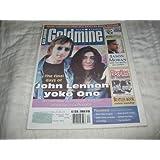 Goldmine Magazine March 23, 2001 Vol 27 No. 6 Issue 539 The Final Days of John Lennon & Yoko Ono ~ Greg Loescher