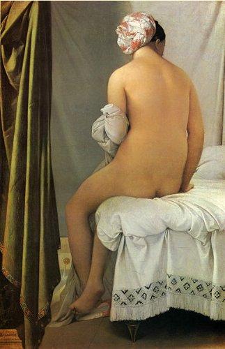 アングル・「ヴァルパンソンの浴女」 プリキャンバス複製画・ ギャラリーラップ仕上げ(6号サイズ)