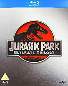 Jurassic Park Ultimate Trilogy [Blu-ray][Region Free]