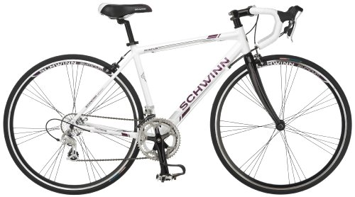 Best Price! Schwinn Women's Phocus 1600 700C Drop Bar Road Bicycle, White, 16-Inch