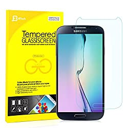 Jetech Premium Tempered Glass Screen Protector for Samsung Galaxy S4
