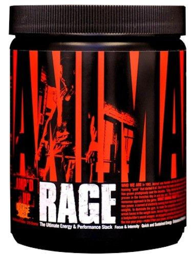 Universal Nutrition Animal Rage, 333-Grams, Orange Juiced