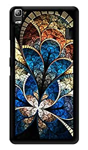 "Humor Gang Abstract Window Paint Art Printed Designer Mobile Back Cover For ""Lenovo k3 note - Lenovo A7000 - Lenovo A7000 Plus - Lenovo A7000 Turbo"" (3D, Glossy, Premium Quality Snap On Case)"