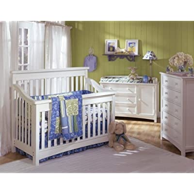 Bonavita Peyton Lifestyle Crib Classic White