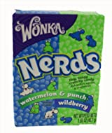 Wonka Nerds - Watermelon & Punch and Wildberry Box 46.7g