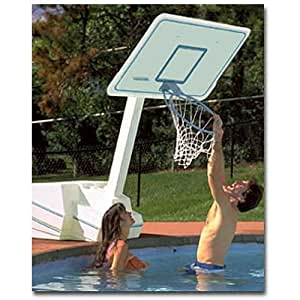 Dunnrite Splash And Slam Swimming Pool Basketball Hoop Style No Volleyball Combo