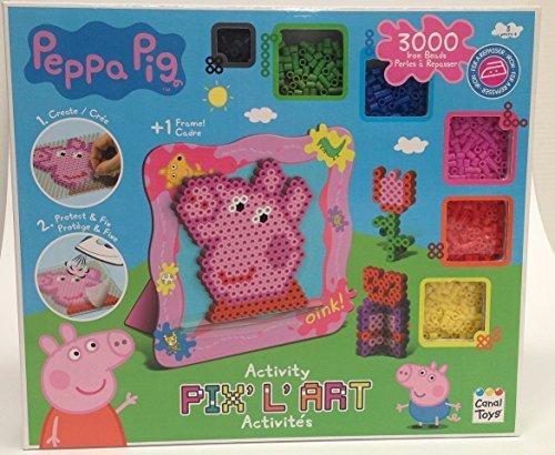 Peppa Pig Pixel Hama Fuse Bead Art Set Import It All