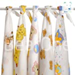 Set of 5 Animals printed Nappies Newb...