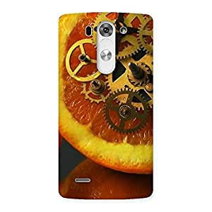 Cute Orange Machines Back Case Cover for LG G3 Beat
