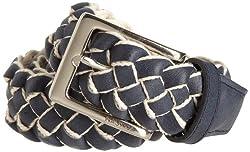 Nautica Men's Braid Belt, Navy, 34
