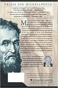 a biography on michelangelo Michelangelo buonarroti was born in 1475 he was born in a small town called caprese, in tuscany, italy michelangelo was one of the most famous artists of the italian renaissance according to charles de tolnay michelangelo's three greatest works of his later life, were the tomb of pope julius ii, the sistine chapel.