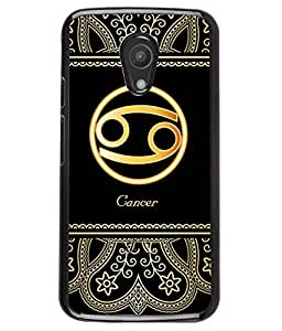 Fuson 2D Printed Sunsign Cancer Designer back case cover for Motorola Moto G2 - D4249