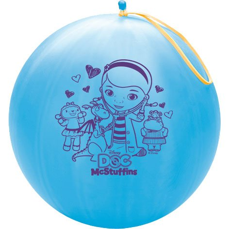 Disneys Doc Mcstuffins Printed Latex Punch Ball Balloon~Pack of four