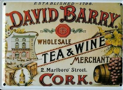 david-barry-tea-wine-mini-targa-latta-post-card-8-x-11-cm-nostalgia-retro-scudo-metal-tin-sign-scudo