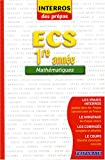 Mathmatiques ECS 1e anne