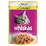 WHISKAS® Pouch in Jelly with Chicken 24 x 100g
