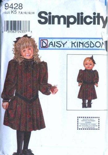 Simplicity 9428 - Daisy Kingdom Girl Dress Pattern with Bonus 18