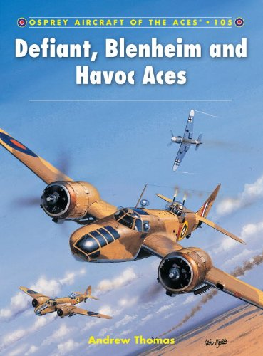Defiant, Blenheim and Havoc Aces (Aircraft of the Aces (Osprey))