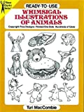 Ready-to-Use Whimsical Illustrations of Animals (Dover Clip-Art Series) (0486262685) by MacCombie, Turi