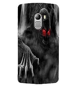 ColourCraft Scary Image Design Back Case Cover for LENOVO A7010