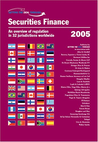Getting the Deal Through: Securities Finance