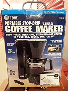 Amazon.com: Vector 12-Volt Portable Coffee Maker: Kitchen & Dining