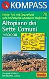 Altopiano dei Sette Comuni: Bassano e Monte Grappa. Carta escursioni, bike e sci alpinismo. Wander-, Rad- und Skitourenkarte. 1.50.000 Rezessionen Picture
