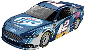 Brad Keselowski # 2 Miller Lite 2014 Ford Fusion NASCAR Diecast Car, 1:64 Scale