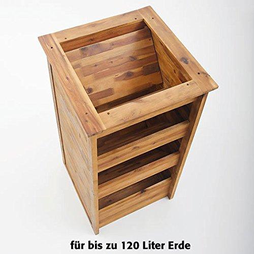 Hochbeet-Kruterturm-aus-Akazienholz
