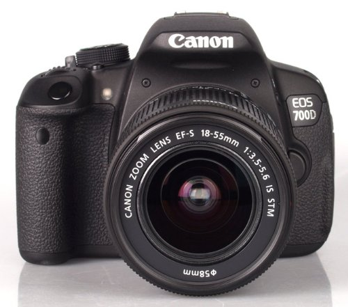 Canon Eos 700D Digital Slr Camera And 18-55Mm Ef-S Is Stm Lens (Black)