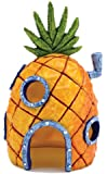 "6.5"" tall spongebob's pineapple house fish tank ornament"
