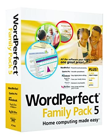 WordPerfect Family Pack 5
