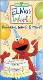 Elmos World - Birthdays, Games & More [VHS]