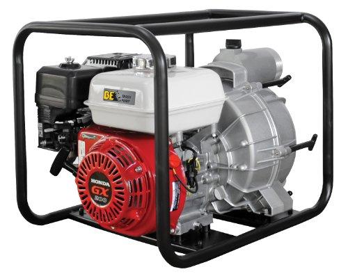 "B E Pressure Tp-3065Hr Trash Pump, 3"", Gx200, 264 Gpm, 6.5 Hp front-337316"