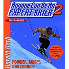 Click here to buy Anyone Can Be an Expert Skier 2: Powder, Bumps, and Carving, Revised Edition by Harald Harb.