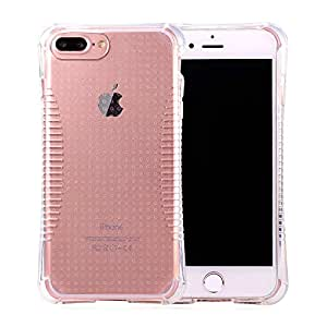 iPhone 7 Case, Bandmax Slim-Fit Soft Clear TPU Bumper Rugged Protective Case for iPhone 7