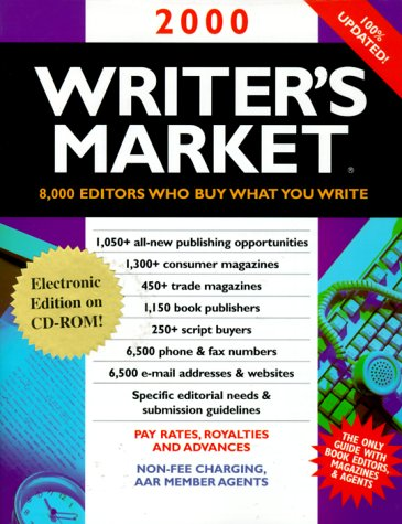 2000 Writer's Market: The Electronic Edition with CD-ROM