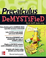 Pre-Calculus Demystified Front Cover